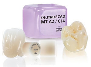 Occlusal clearance issues with e.max while working with the dental lab.